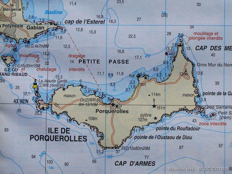 Les Cartes De Randonnee Nautique Nautical Trek
