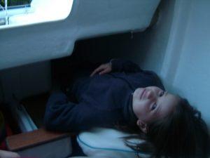 Astus 20.1 : 4 couchettes dans la cabine