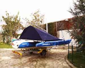 Magnum 21 : La tente de raid Virusboats