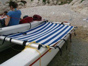 Astus 20.1 : Extension du trampoline pour le couchage