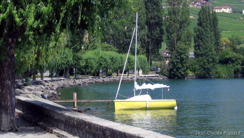 Autour du Lac Léman en Globe 530