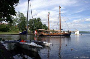 Navigation sur le Göta Canal