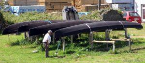 Le CURRACH, embarcation traditionnelle des Iles dAran