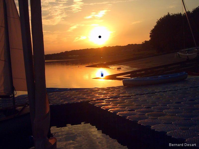 Le Lac de l'Eau d'Heure :Escapade en VirusPlus