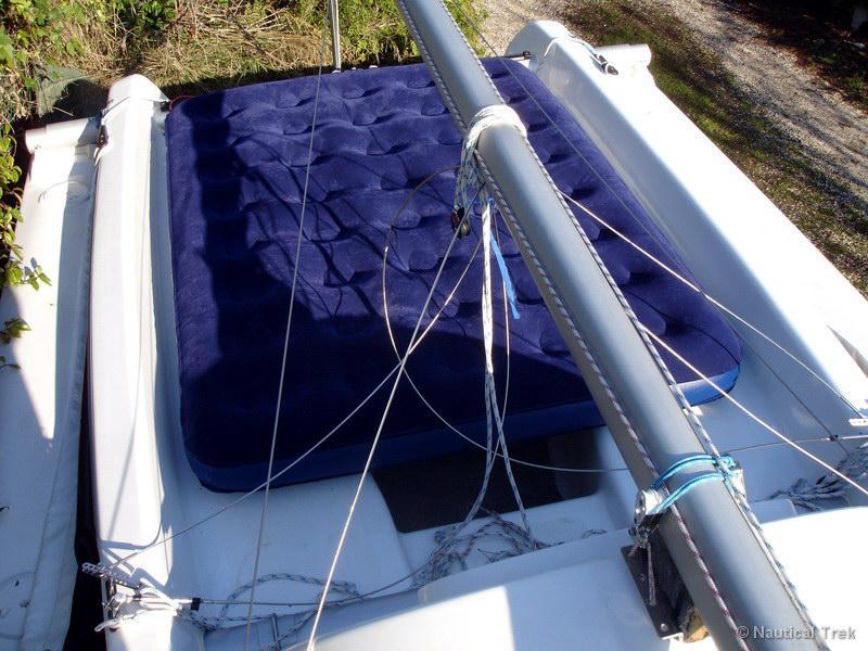 Couchages sur un trimaran de rando (partie 3)