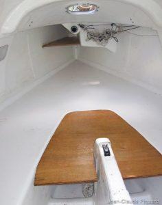 Globe 530 : Aménagement de la couchette double