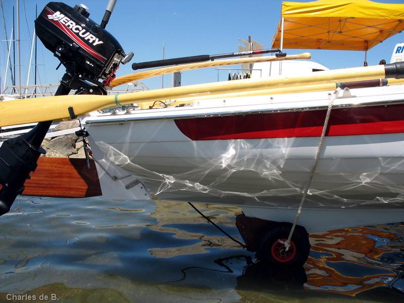 Norseboat : Roulette pour aileron.