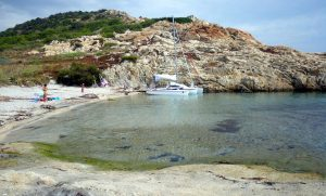 Croisière provençale en trimaran Astus 22 (de Port Grimaud à Giens)