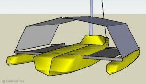 Tente de cockpit et de trampoline