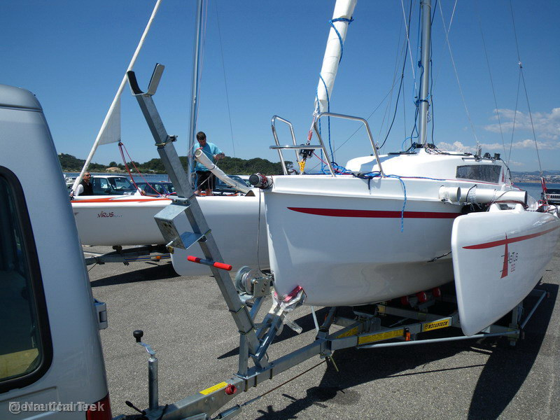 Astus 22: Déployer et replier les flotteurs.