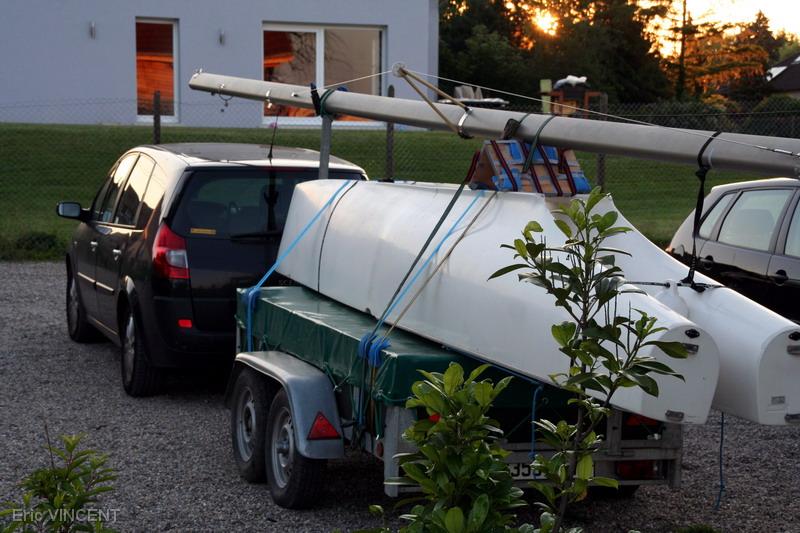Les Kornati en cata de sport et kayak à voile (préambule)