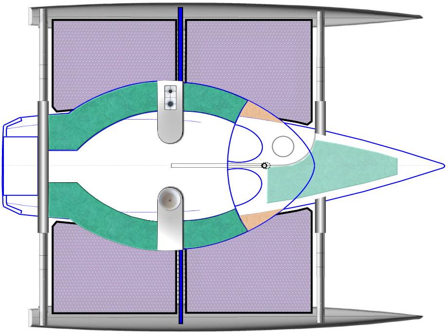 Le Trek+Ultra à double entrée de cabine (version 9)
