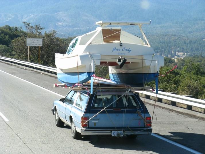 Les bateaux transportoible (transportables sur le toit)